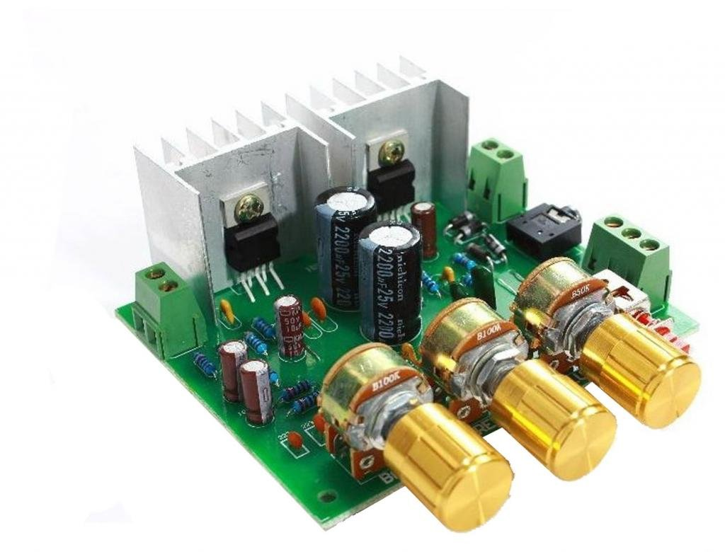 Top Cofrld 2 Channel 20 15w Tda2030a Hifi Stereo Amp Kits Subwoofer Audio Amplifier Circuit Board For Diy Kit Home Theater