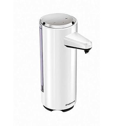 simplehuman 237 ml recargable-de jabón, automático dispensador de jabón líquido para, blanco