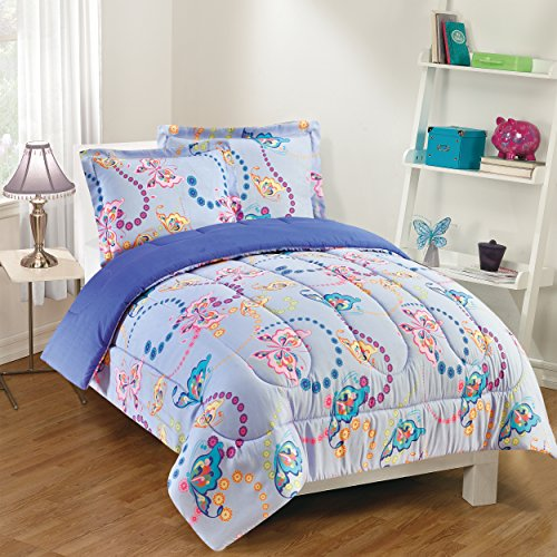 Gizmo Kids GK23FT0251 Comforter Set, Twin, Lavender ()