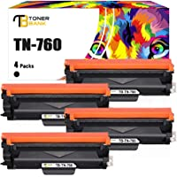 Toner Bank Compatible Toner Cartridge Replacement for Brother TN760 TN-760 TN730 TN-730 for MFC-L2710DW DCP-L2550DW HL…