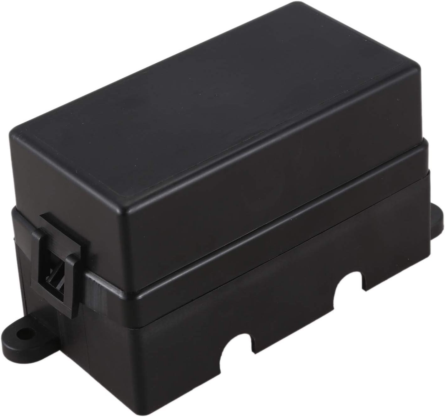 TaoToa Fusible de Cuchilla de 12 V/íAs Caja de Soporte con Terminales de Pala y Fusible 4 Piezas 4 Pines 12V 40A Rel/éS para Remolque de Carro de Autom/óVil y Barco