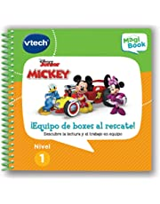 VTech - Libro Equipo Mickey al rescate, descubre la lectura para MagiBook (80-