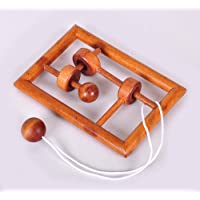 Chonor Cubo Rompecabezas 3D de Madera del Enigma