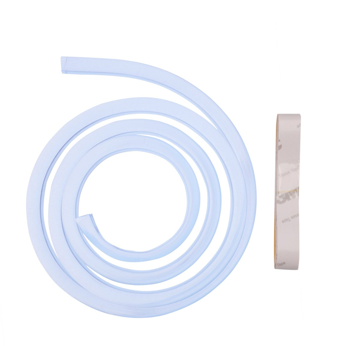 YiZYiF 1M/39 Inches Anti-Collision Corner Guard Safety Baby Proofing Edge Guards Toddlers Babies Home Furniture Sharp Corner Clear Protective Bumpers