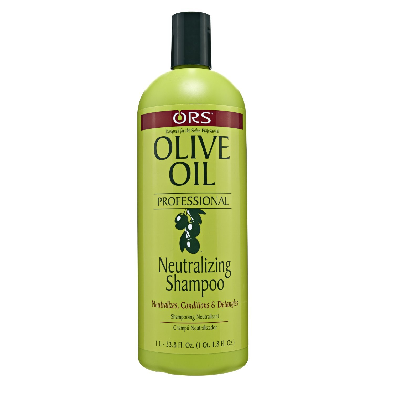 Organic Root Stimulator Olive Oil Professional Neutralizing Shampoo, 33.8 Ounce