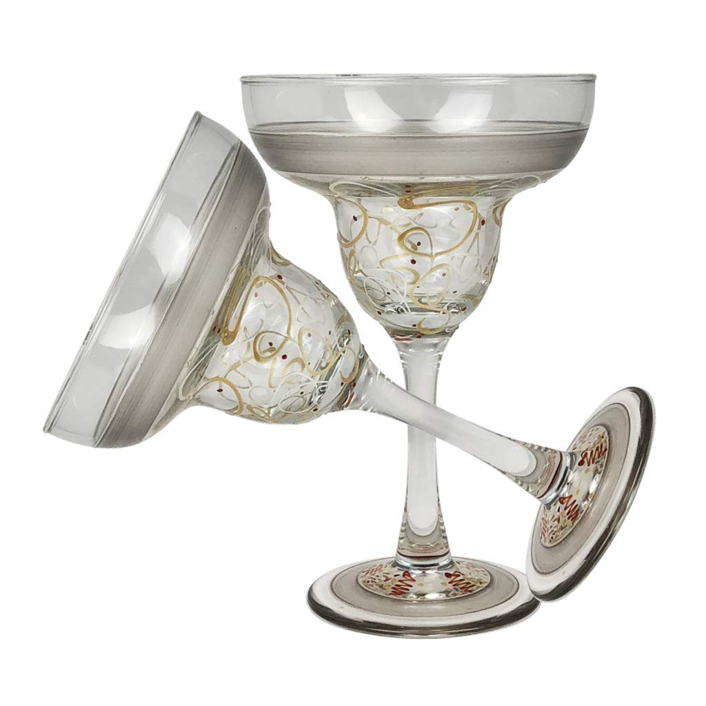 Crafted Creations Set of 2 Celebration Streamers Margarita Glass 6.75''