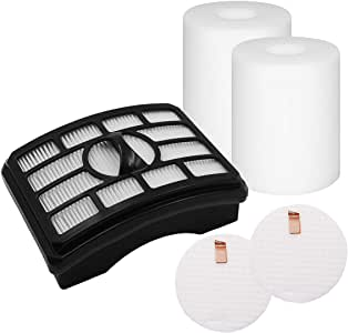 RinoDirect Shark Rotator Pro Lift-Away Replacement Filters for The Furniture Sweeping Machine NV500/NV501/ NV50 Series, etc.