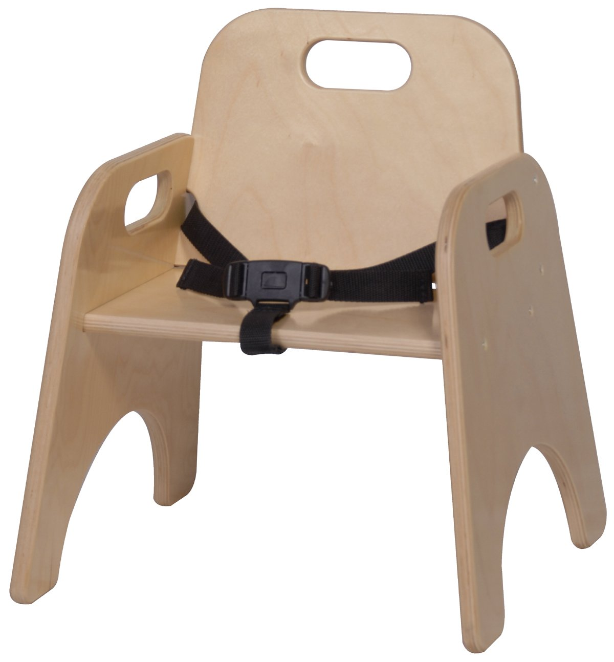 Steffy Wood Products 9-Inch Toddler Chair with Strap by Steffy Wood Products, Inc.