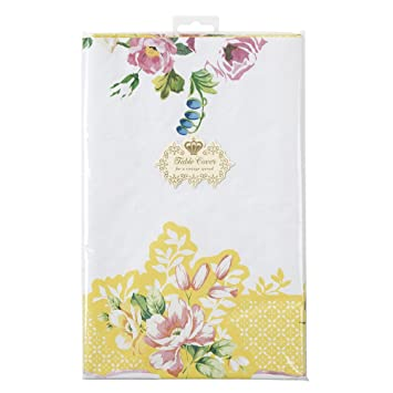 Talking Tables Truly Scrumptious Floral Paper Table Cloth For A Tea Party  Or Birthday, Multicolor