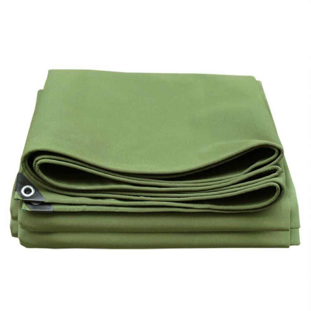 テントの防水シート 厚いキャンバス\\油布\\防水日焼け止めの防水シート\\トラックの雨布\\布\\屋外日陰布 650g㎡(厚さ0.8MM) それは広く使用されています (サイズ さいず : 4*8m) B07D6NRKKL 4*8m  4*8m