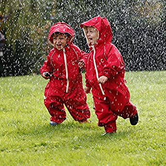 Hippychick Waterproof Fleeced Lined All in One Rainsuit Splashsuit Snowsuit for Kids Essential Outdoor Clothing for Children