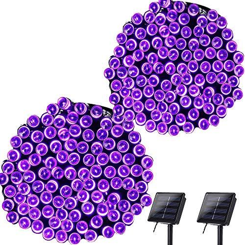 Purple Outdoor Solar Lights in US - 3