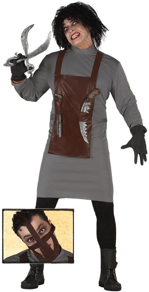 Disfraz de asesino científico adulto: Amazon.es: Juguetes y juegos