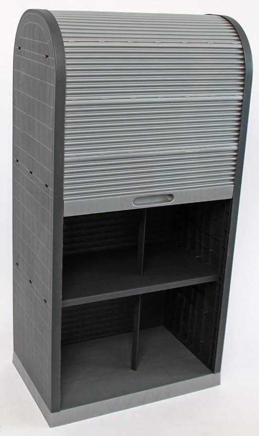 Mendler Universal Kunststoff Rollladenschrank Büro Jalousie Schrank ...