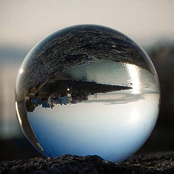 Christbaumkugeln Glas Transparent.Blackpoolal Glaskugel Klar Fotografie Kugel Aus Glas