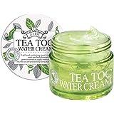 TEATOC Green Tea Water Cream | Korean Facial Moisturizer, Massage Cream and Sleeping Mask - 3.38oz