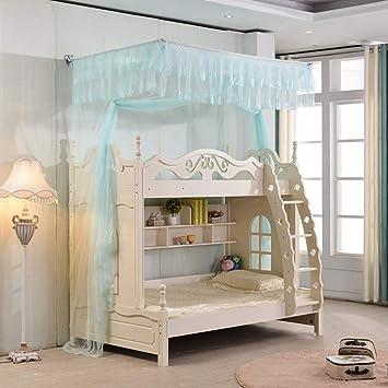 CJJC Princess Bett Moskitonetz, Einfache Installation Ployester Etagenbett  Kinderbett Baldachin, Fliegen Insekt Schutz Net