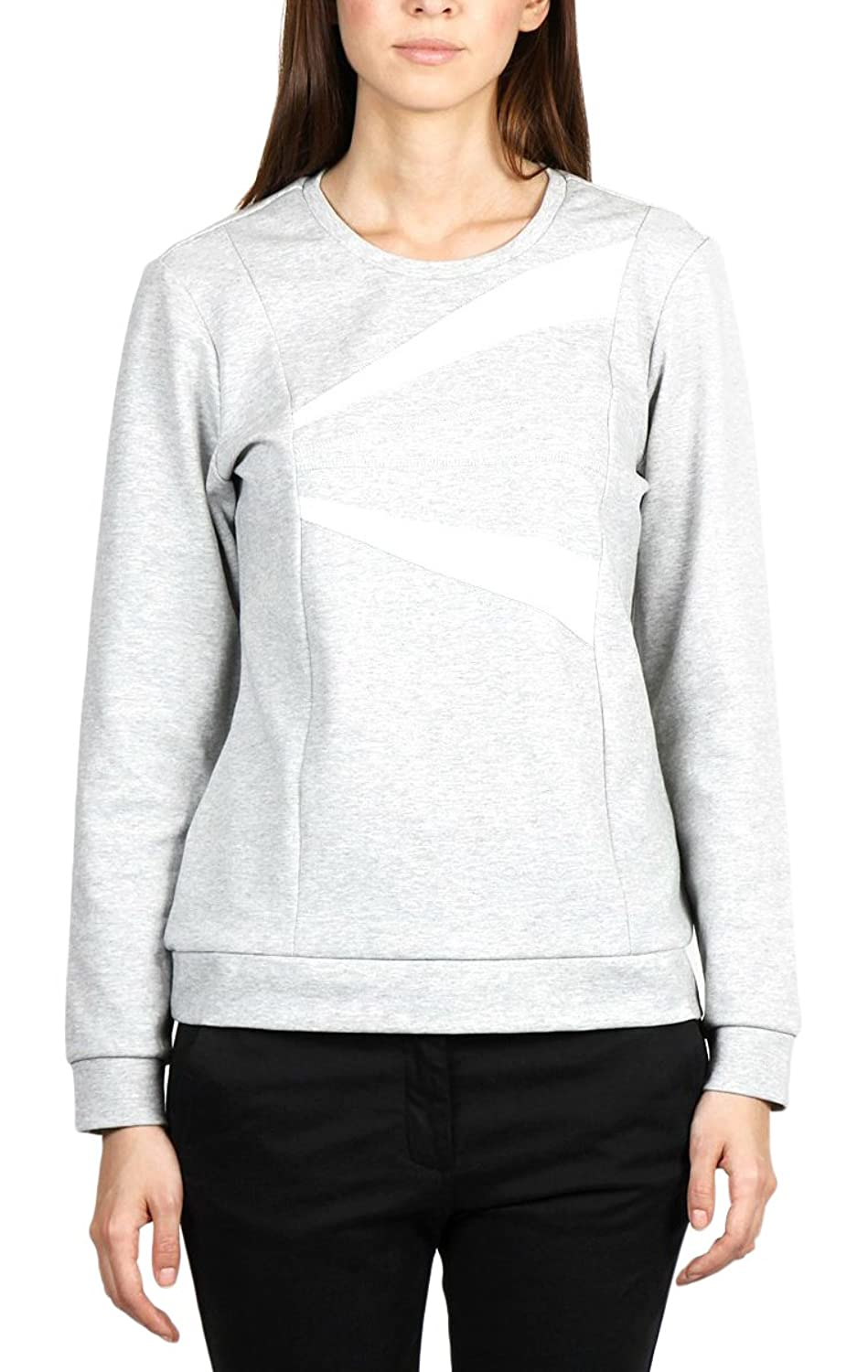 Moves To Slow Damen Sport Kapuzenpullover 0081, Grau, M