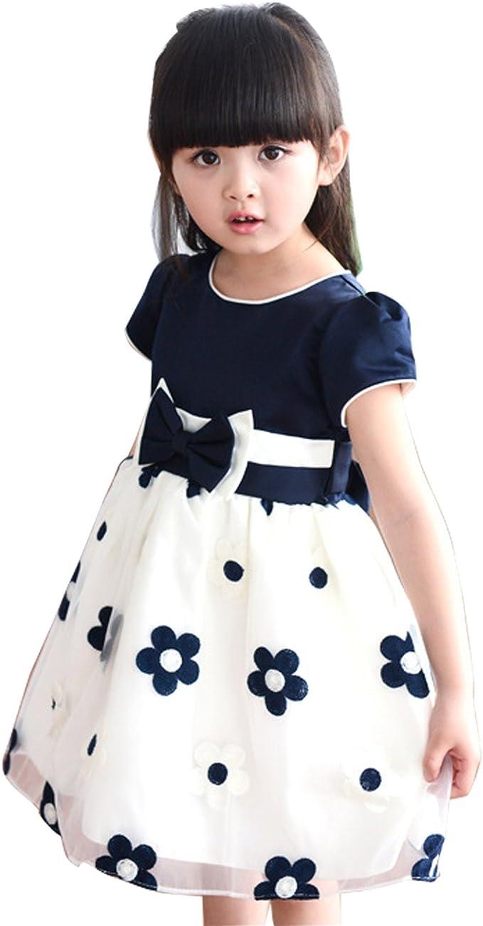 Vestiti Cerimonia Bambina 6 Anni.Gaorui Bambina Vestito Da Principessa Per Cerimonia Nozze Vestito