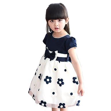 Amur leopard principessa vestito cintura fiocco modello for Amazon vestiti bambina