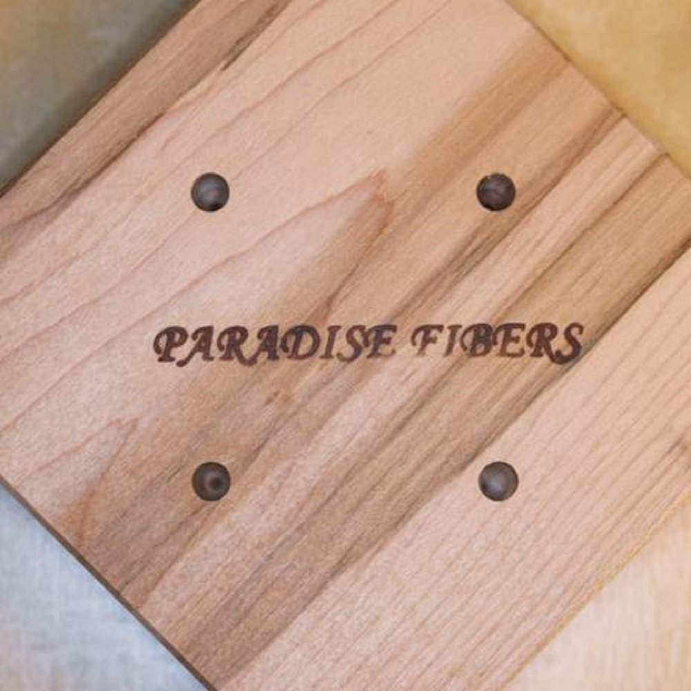 Paradise Fibers Super Swift II (Maple) - with 2 Speed Capability, Great Tension Control, and Fully Collapsible for Easy Storage by Paradise Fibers (Image #2)