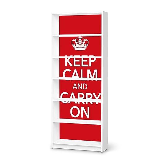 Möbelfolie für IKEA Billy Regal 6 Fächer | Sticker Möbel ...