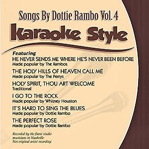 Karaoke Style: Dottie Rambo Vol. 4