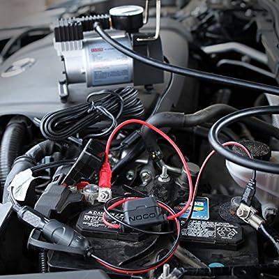 NOCO GC018 12-Volt Adapter Plug Socket With Eyelet Battery Terminals: Automotive
