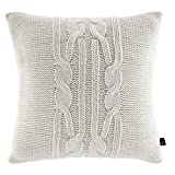 Nautica Seaward Square Pillow, 16 x 16, Ivory