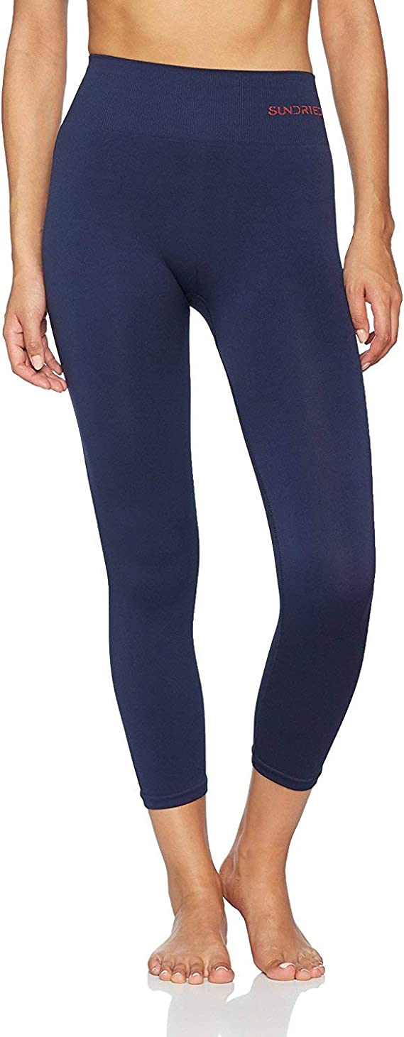 Sundried Leggings recortada 3/4 Capri Yoga Medias Mujeres Running Training