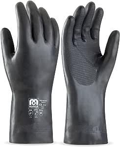 Marca 688-NEO/N9 - Juego guante neopreno flocado algodon talla 9 1 par: Amazon.es: Bricolaje y herramientas