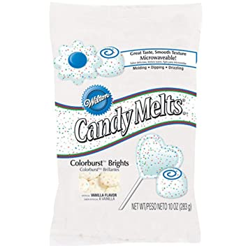 Amazon.com : 2 x Wilton 12 oz (340g) COLOURBURST Candy Melts ...