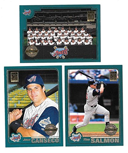 2001 Topps Home Team Advantage (HTA) - ANAHEIM ANGELS Team Set