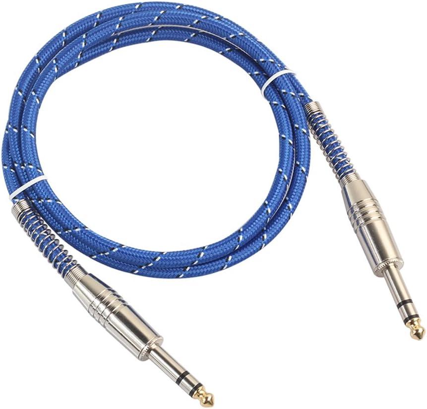 XZANTE 6.35Mm A 6.35Mm Cable De Audio Macho A Macho Para Guitarra ...