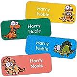 Pegatinas Personalizadas Con El Nombre Y Apellido | Adhesivos Personalizados Impermeables Con Motivos De Dinosaurios (