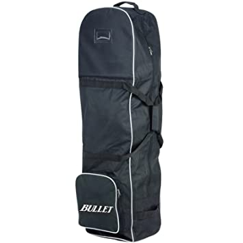 1b08fa5e463e New Lightweight Padded Black Bullet Deluxe Padded Golf Bag Flight Travel  Holiday Cover Wheeled Shoe Case