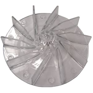Eureka Sanitaire 12988 Vacuum Cleaner Plastic Fan Impeller (Case of 12)