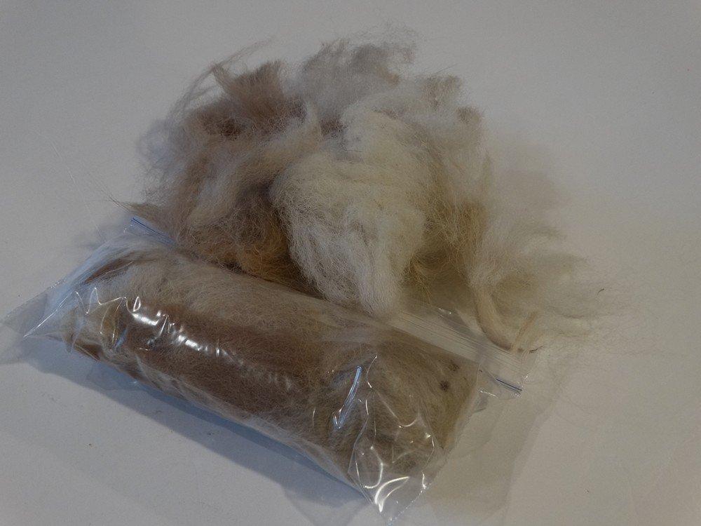 Bird Nesting Ball Alpaca Fiber REFILL - 4 Bags