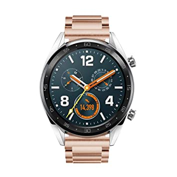 Leafboat Brazalete Compatible Fossil Gen4 Q Explorist HR, 22 mm de Repuesto en Acero Inoxidable