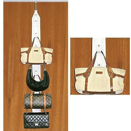 Incroyable Over The Door Purse Organizer Hanger Storage Handbag Hat Belts Rack Closet  New