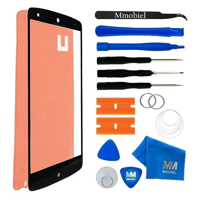 swark LCD Display Touch Screen Rahmen Front Glas Scheibe F/ür LG Google Nexus 5 D820
