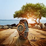 CUCOL Women Bamboo Wooden Watches Minimalism