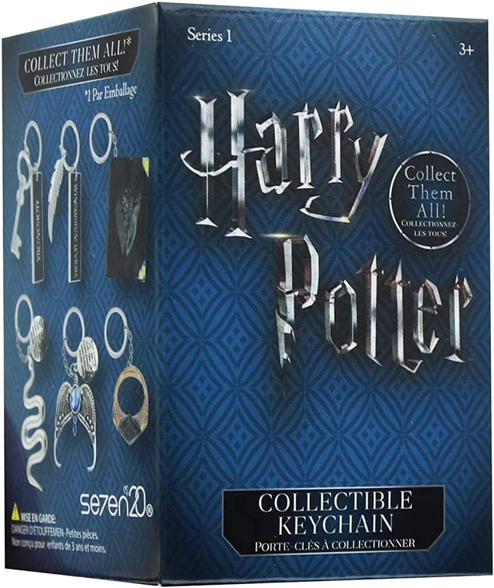 Harry Potter Collectible Key Chain Mystery Blind Box - Receive 1 of 12 Mystery Key Rings - Spells, Wands and Horcruxes - Collect all 12! - Series 1