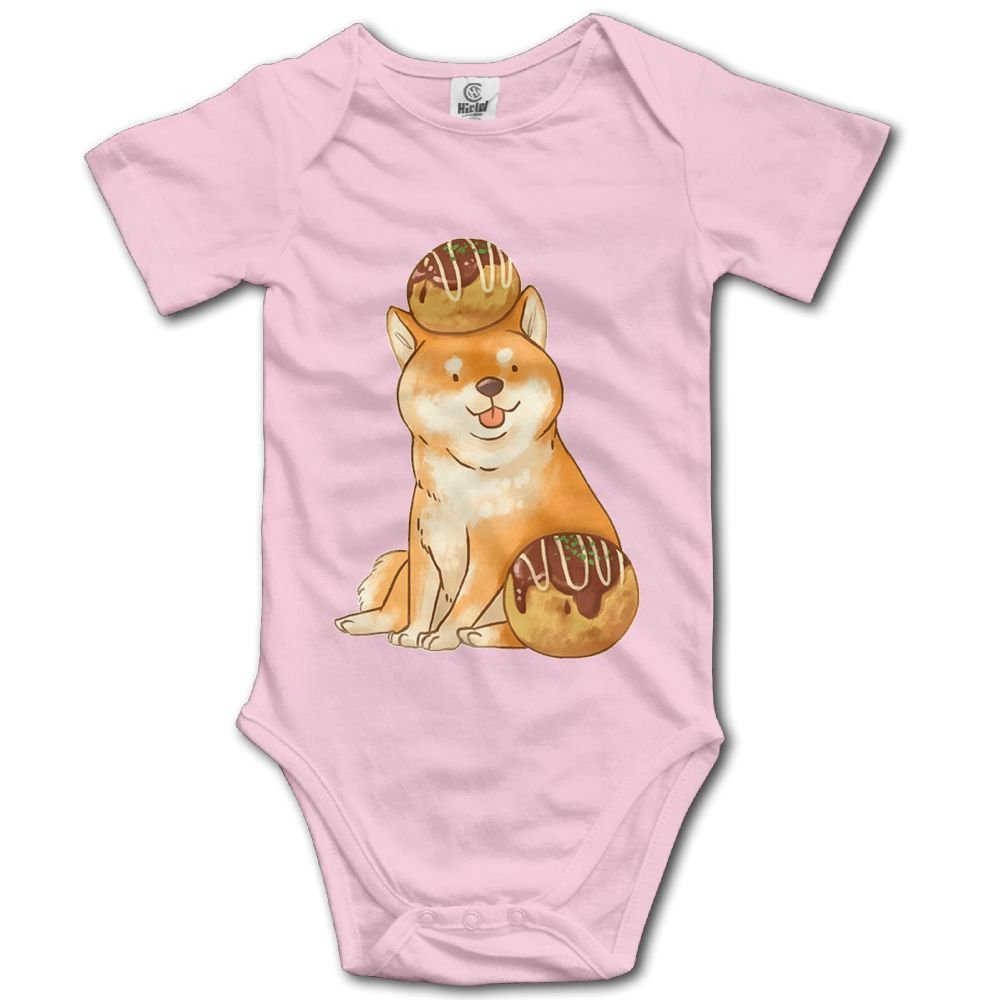 Rainbowhug Shiba Inu Dog Unisex Baby Onesie Cute Newborn Clothes Funny Baby Outfits Soft Baby Clothes