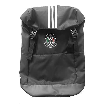 Amazon.com: adidas México FMF Stadium Mochila (Negro ...