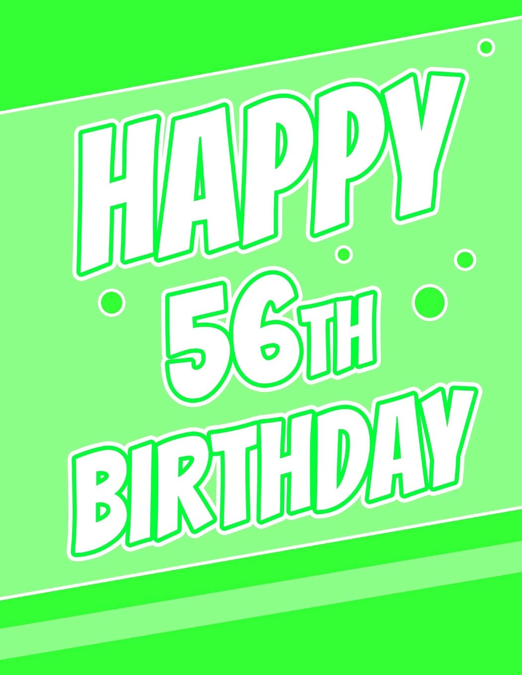 Happy 56th Birthday Better Than A Card Password Keeper Or Notebook Groovy Green Record Email Address Usernames Passwords Security
