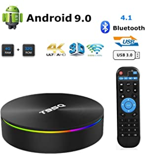 Luxury Sunvell T95Q Smart TV Box 4G+32//64GB Android8.1 HD Media Player Smart Box