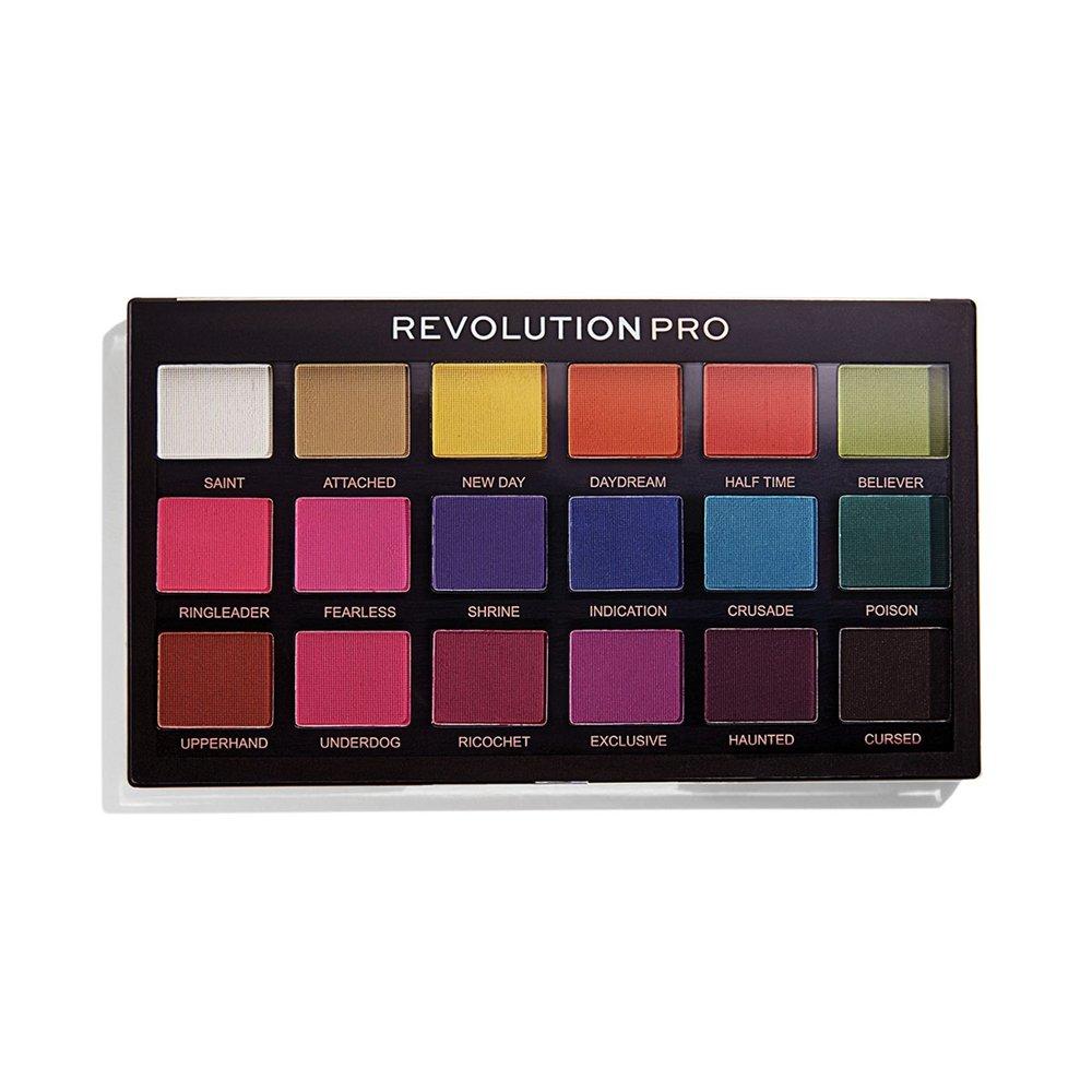 Makeup Revolution Pro Regeneration Eyeshadow Palette Trends Mischief Mattes
