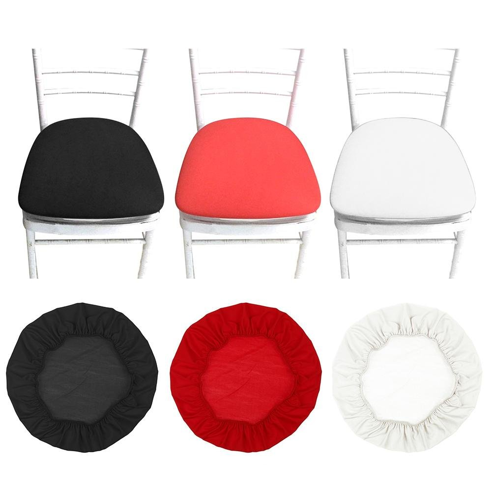 SUNSETGLOW Chair Covers Stretchable Dining Stool Cover Slipcovers, Soft Chair Protectors for Dining Room Patio Office Chair - Beige