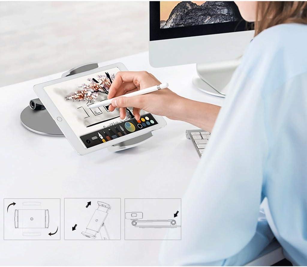 DESKTOP WGZ Phone Holder Universal Universal Holder Portable Color : Silver IPad Tablet Holder